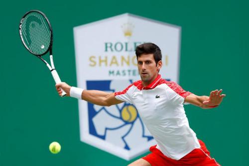 Djokovic đang đạt phong độ cao khi thắng 29 trong 31 trận gần nhất, kể từ khi thua Cecchinato ở tứ kết Roland Garros. Ảnh: Reuters.