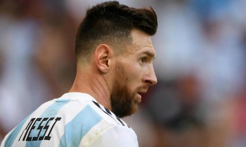 Messi không chơi cho Argentina kể từ sau World Cup. Ảnh: FFT.