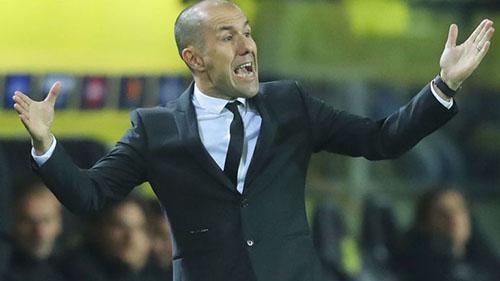 Người tiền nhiệm của Henry, Leonardo Jardim bị Monaco sa thải đầu tuần này. Ảnh: AP.