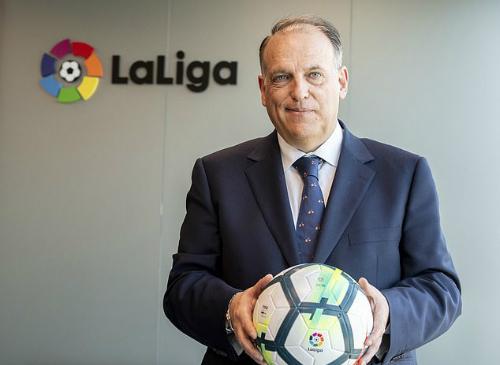 Chủ tịch La Liga muốn Mourinho và Guardiola, không tiếc Ronaldo - ảnh 2