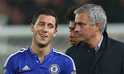 Hazard muốn tái hợp Mourinho - ảnh 2