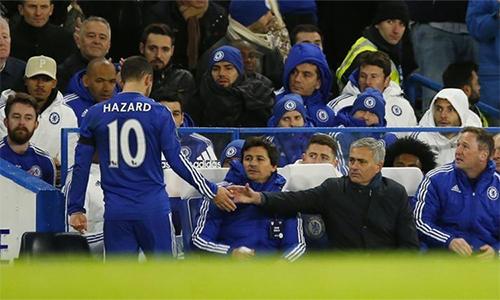 Hazard muốn tái hợp Mourinho - ảnh 1