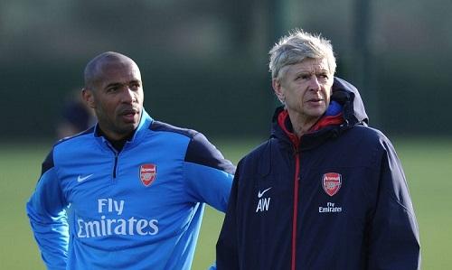Wenger tin Henry sẽ thành công tại Monaco. Ảnh: Reuters.