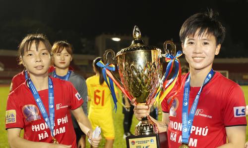 Hà Nam tiếm ngôi của TP HCM I ở giải nữ quốc gia 2018