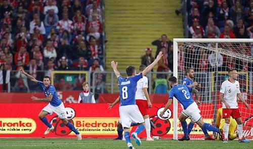 Italy có chiến thắng thứ hai liên tiếp trước Ba Lan. Ảnh: Reuters.