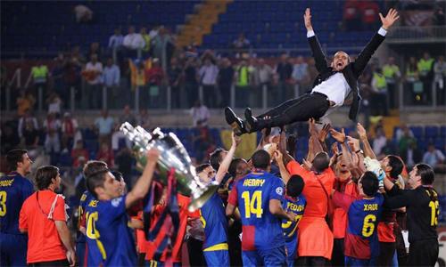Barca, trong bốn năm Guardiola làm HLV trưởng, quy tụ một tập thể tài năng vào diện xuất chúng của bóng đá thế giới.