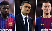 Tin Thể thao tối 15/10: Barca khủng hoảng hàng thủ trước El Clasico