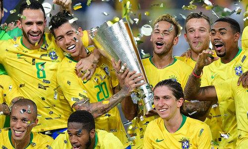 Neymar góp công kiến tạo, Brazil đánh bại Argentina
