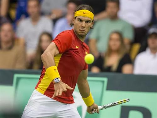 Nadal nhận lời dự Davis Cup 2019  giải đấu với thể thức mới do Pique tổ chức. Ảnh: USA Today.