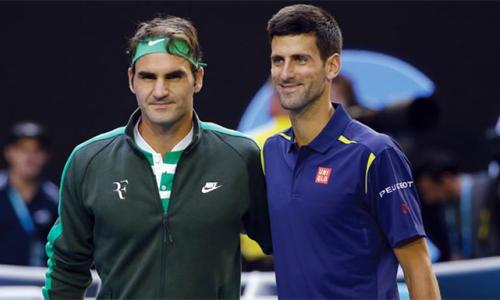 Djokovic cho rằng khó có thể đánh theo lối giao bóng và lên lưới trước những tay vợt như Federer. Ảnh: AP.