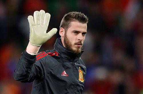 Ngôi sao hàng đầu của Man Utd, thủ thành De Gea chưa chịu ký hợp đồng mới. Ảnh: Reuters.