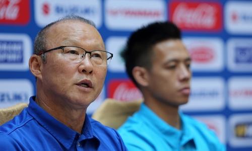 HLV Park Hang-seo: 'Cầu thủ Việt Nam phải học cách vượt qua sợ hãi'