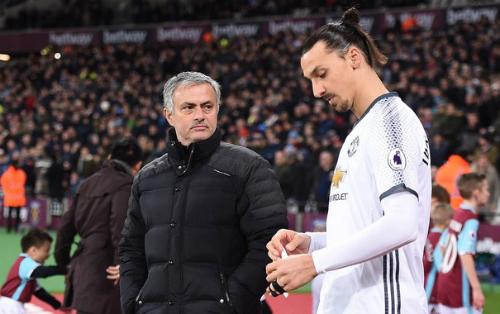 Mourinho và Ibrahimovic nổi tiếng vì cá tính và những phát ngôn. Ảnh:Reuters.