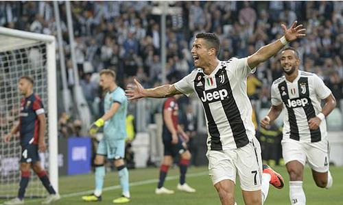 Juventus mất chuỗi thắng dù Ronaldo lập công