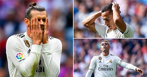 Trước Levante, Realchỉ hiện lên với những khuôn mặt bế tắc, tuyệt vọng.