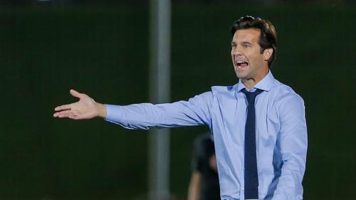 Solari có thành tích tốt khi dẫn dắt đội trẻ Real. Ảnh:Marca.