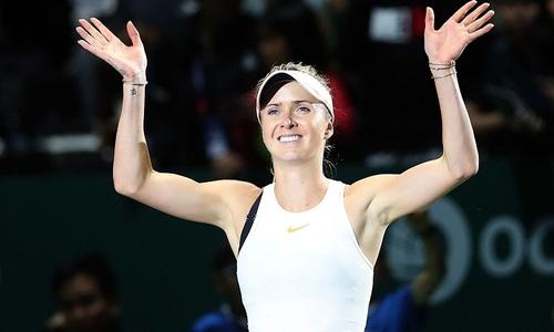 Svitolina và Pliskova thắng trận ra quân ở WTA Finals