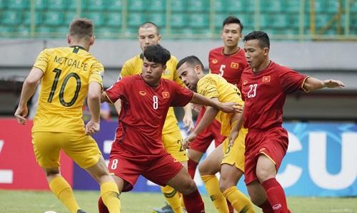 Việt Nam dừng bước sau hai trận thua ởgiải U19 châu Á. Ảnh: Fox.