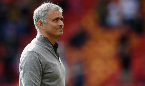 Mourinho không quan tâm tới cơ hội trở lại Real. Ảnh:AFP.
