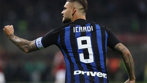 Icardi đang có phong độ tốt trong màu áo Inter.