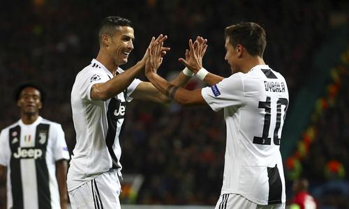 Juventus đánh bại Man Utd tại Old Trafford