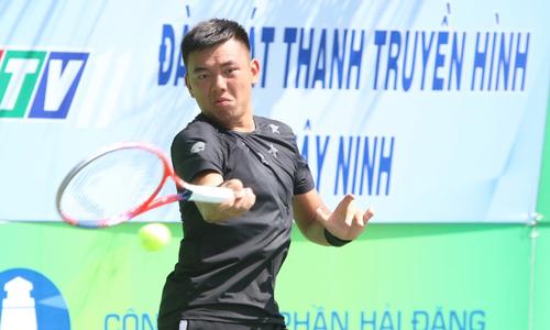Lý Hoàng Nam thắng dễ đàn anh ở Vietnam F4 Futures