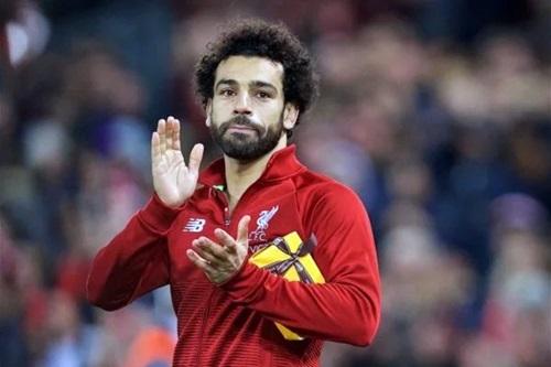 Salah có thêm một kỷ lục nữa trong màu áo Liverpool. Ảnh: PA.