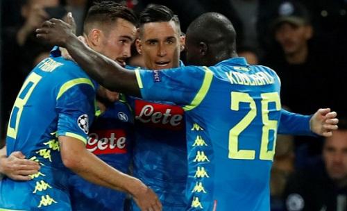 Napoli thi đấu chắc chắn và tuân thủ đấu pháp mà HLV Carlo Ancelotti đề ra. Ảnh: Reuters.