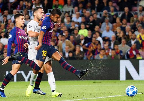 Barca vượt lên nhờ tạo ra cơ hội rõ ràng và dứt điểm tốt hơn.