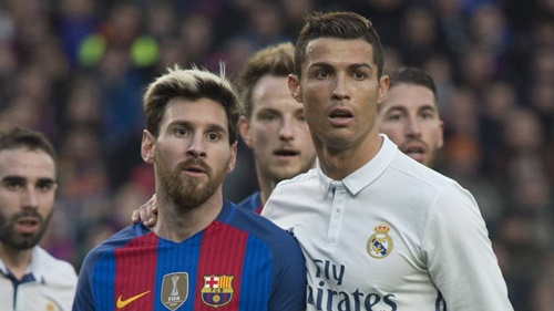 Messi và Ronaldo từng được xem là hình ảnh đặc trưng của những trận El Clasico. Ảnh: Reuters.