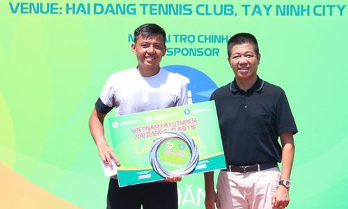 Lý Hoàng Nam thắng đôi, thua đơn ở chung kết Vietnam F4 Futures