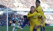 Chelsea đè bẹp Burnley, lên nhì bảng Ngoại hạng Anh