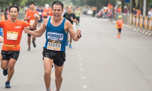 Nhiều cột mốc được thiết lập tại Longbien Marathon 2018