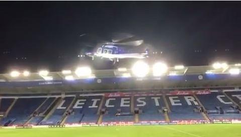 Báo Anh công bố đoạn video trực thăng chở cố Chủ tịch Vichai rơi