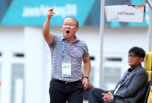 VFF giao chỉ tiêu cho HLV Park Hang-seo đưa tuyển Việt Nam vào chung kết AFF Cup 2018. Ảnh: Đức Đồng