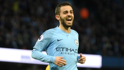 Bernardo Silva thường xuyên được đá chính tại Man City mùa giải này. Ảnh:AFP.