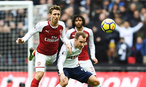 Thành London lại chứng kiến thêm một trận derby nảy lửa giữa Arsenal với Tottenham.