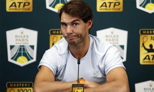 Nadal rút khỏi Paris, mất ngôi số một thế giới vào tay Djokovic