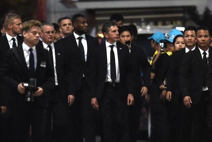 Cầu thủ Leicester có mặt tại Bangkok, viếng cố Chủ tịch Vichai