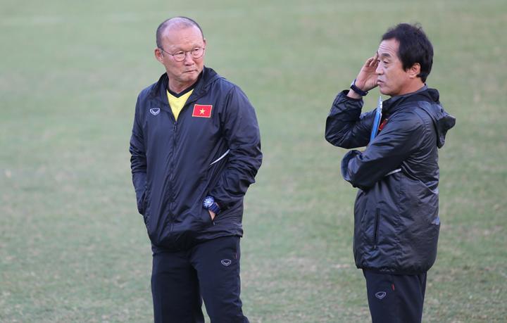 HLV Park Hang-seo đặc biệt đề cao tính bí mật trong quá trình chuẩn bị cho AFF Cup 2018. Ông luôn yêu cầu tập và đá giao hữu kín. Ảnh: Lâm Thỏa