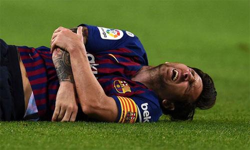 Sự hồi phục nhanh chóng của Messi đang khiến giới quan sát ngạc nhiên. Ảnh: Reuters