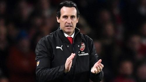 Emery đang cho thấy dấu hiệu phục hồi Arsenal. Ảnh:Reuters.