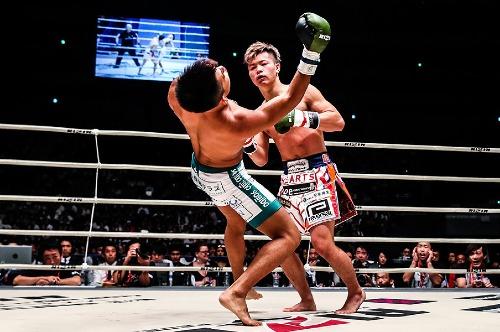 Nasukawa h? knock-out ??i th?. ?nh:?AFP.