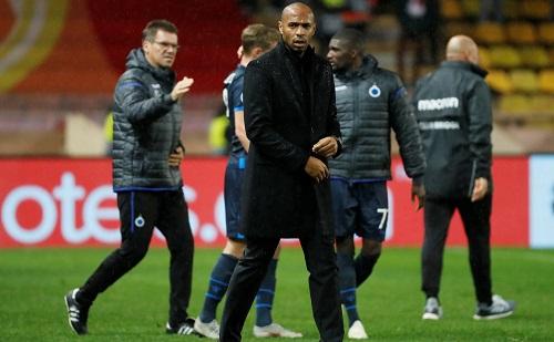 Henry chưa thắng trận nào từ khi dẫn dắt Monaco. Ảnh: Reuters.