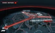 Đường đua F1 Mỹ Đình được thiết kế như thế nào