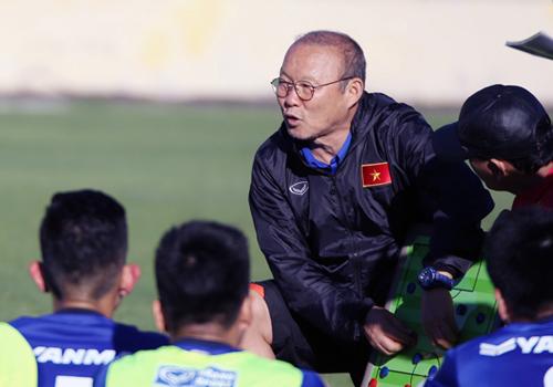 HLV Park Hang-seo muốn Việt Nam đứng đầu bảng A, tránh sớm đụng Thái Lan, nhà vô địch năm 2014 và 2016 tại AFF Cup năm nay.