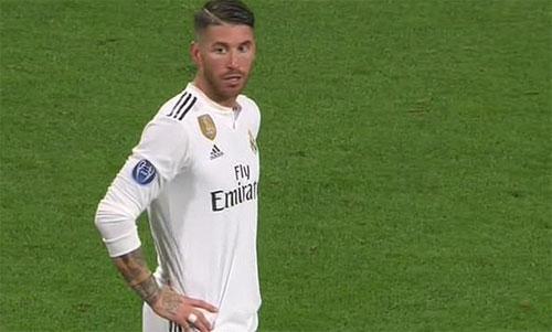 Ramos có bộ sưu tập thẻ lẫy lừng.