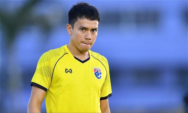 Hậu vệ trái Korrakot đánh giá cao cơ hội vô địch của Việt Nam. Ảnh: FS.