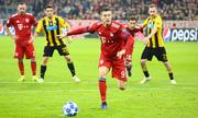 Lewandowski đưa Bayern tiến gần vòng 1/8 Champions League