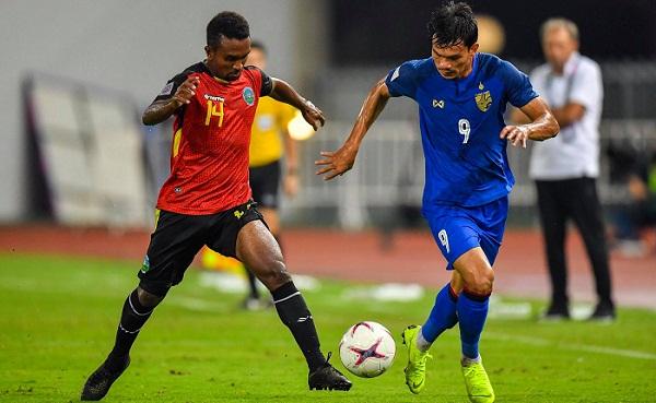 Adisak chói sáng với 6 bàn thắng vào lưới Timor Leste. Ảnh: AFF Cup.